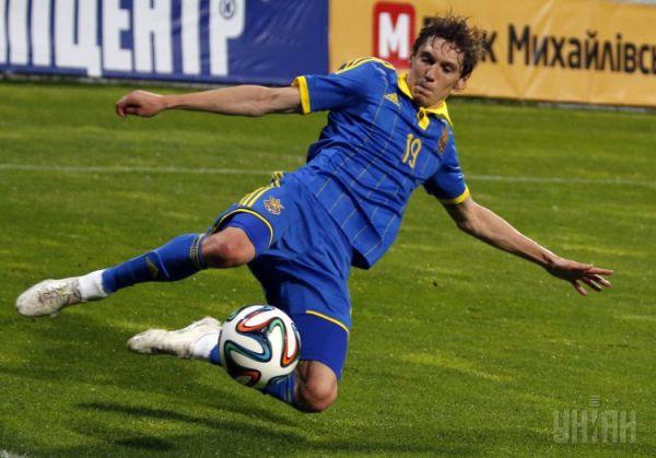 Гармаш «в полете» на стадионе в Киеве