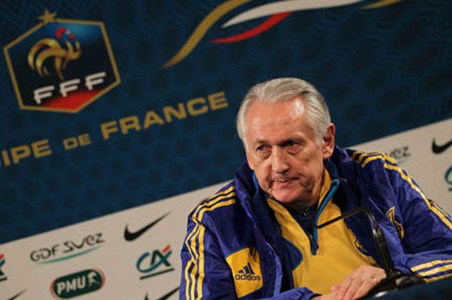 Тренер сборной Украины по футболу Михаил Фоменко