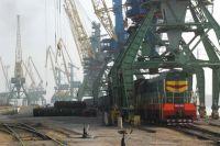 Морской торговый порт в Измаиле