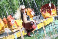 Омские парки уже открыли двери для посетителей.