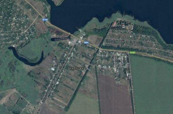 Карта Карловки