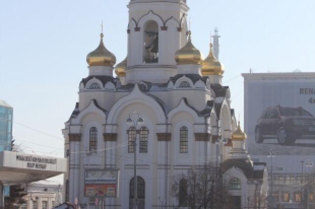 Детская литургия пройдет в екатеринбургском храме Большой Златоуст