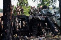 В Волновахе погибли военнослужащие