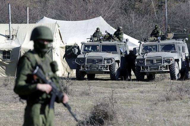 Войска РФ вблизи украинской границы