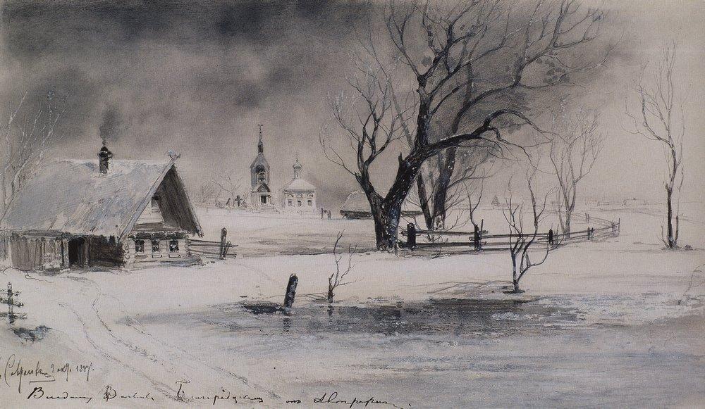 Последние годы своей жизни художник практически ничего не писал, жил в нужде. Он умер 8 октября 1897 годав Москве в больнице для бедных.