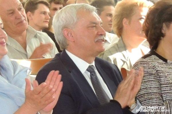Георгий Полтавченко остался на концерт в школе