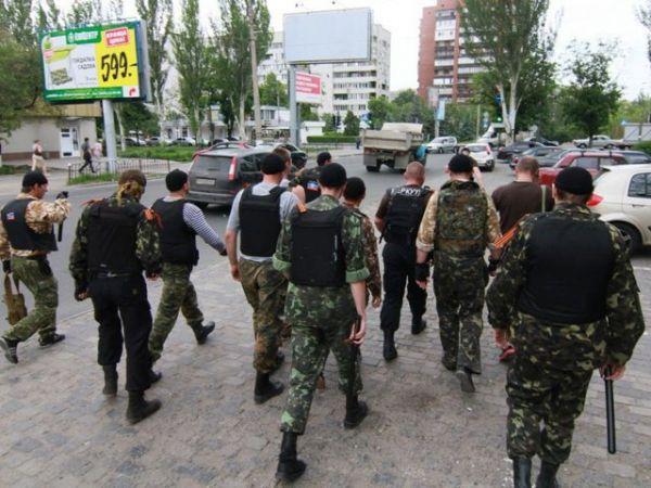 Представители ДНР в Донецке