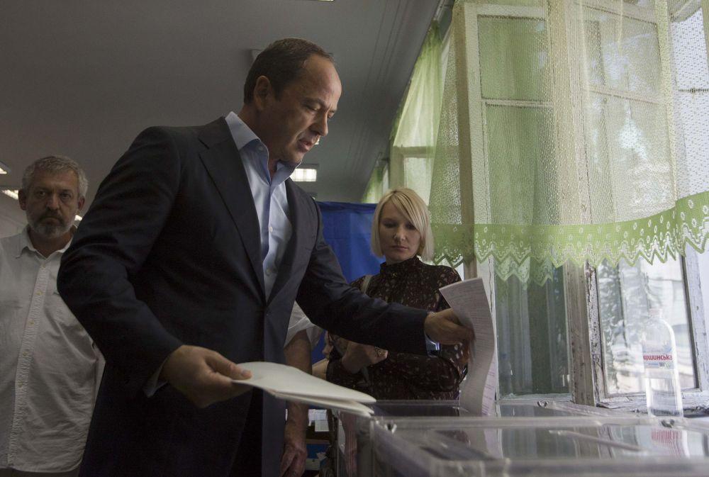 Один из кандидатов в президенты Сергей Тигипко.