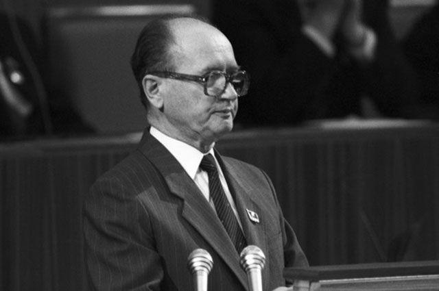 Войцех Ярузельский, 1987 год.
