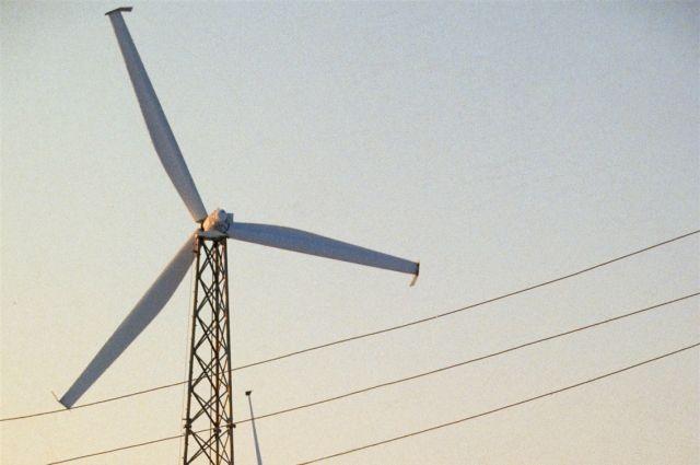 Омск будет освещать энергия ветра.