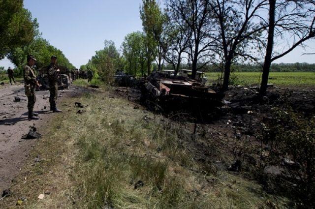 Антитеррористическая операция на востоке Украины