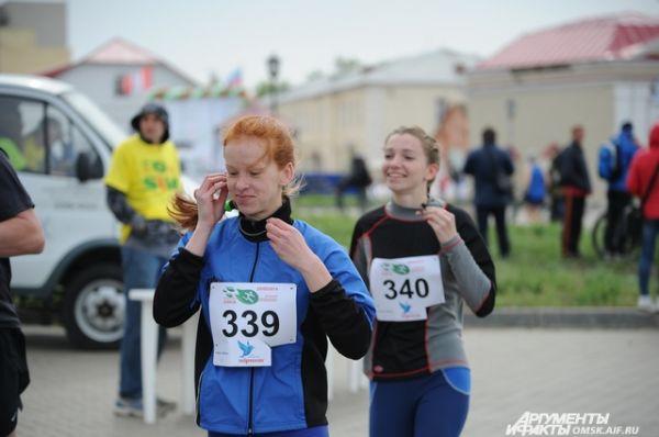 Весенний полумарафон в Омске.