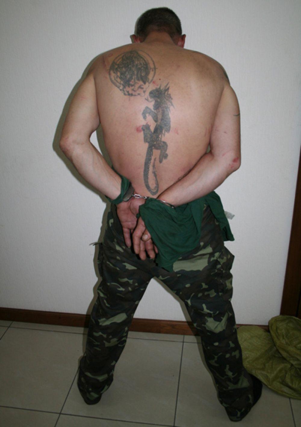 Задержанный в Новоайдаре террорист