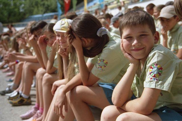 Летом детям лучше всего отдохнуть и набраться сил.