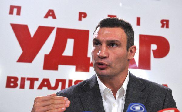 24 апреля 2010 года Кличко политическая партия «Новая страна» была переименована в партию УДАР (Украинский Демократический Альянс за Реформы), ее возглавил Виталий Кличко. В 2012 году «УДАР» получила 42 мандата на парламентских выборах, и Кличко сам возглавил фракцию.