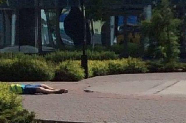 В Донецке погиб мужчина