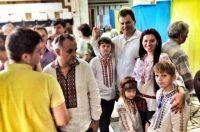 Украинцы в вышиванках