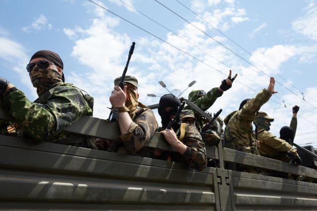 Грузовик с боевиками