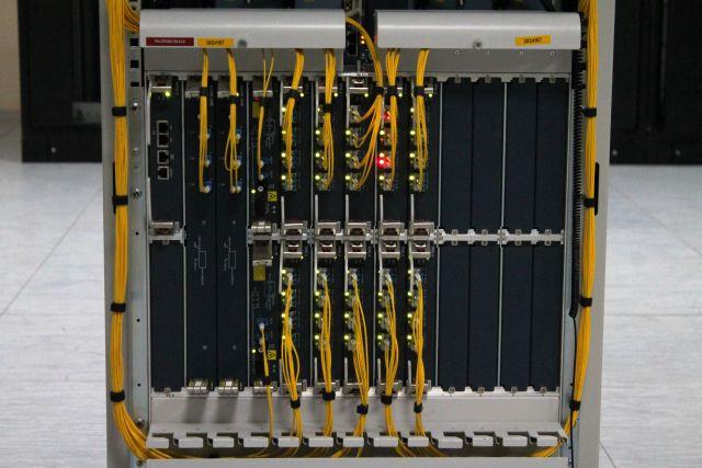 Сервер в дата-центре