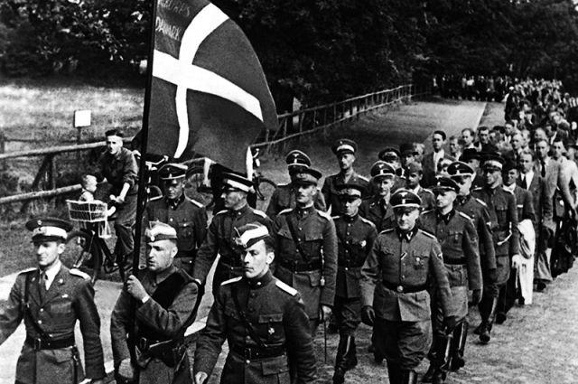 Добровольческий корпус «Дания», 1941 год.