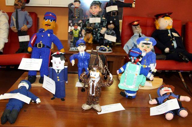 Ручные «Полицейские дяди Степы» украсят выставку.