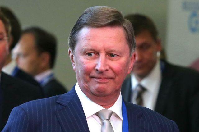 Сергей Иванов, глава Администрации Президента РФ.