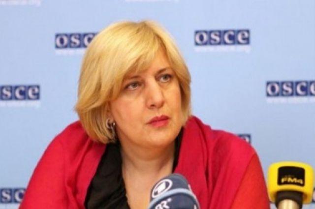 Дуня Миятович, представитель ОБСЕ по свободе СМИ