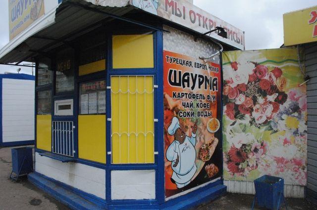 В Омске ведут борьбу с киосками.