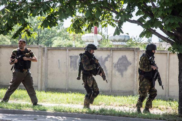 Террористы хорошо вооружены как для местного населения