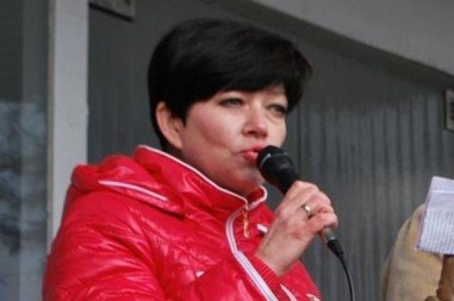 Сепаратистка Ирина Полторацкая