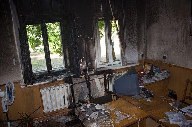 Поджог редакции в Измаиле