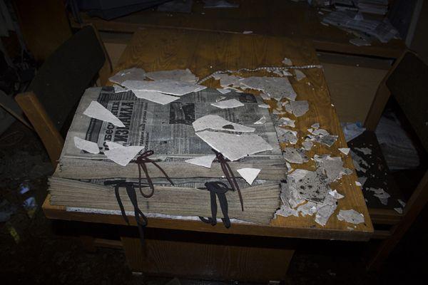 Кабинет газеты Собеседник Измаила после поджога