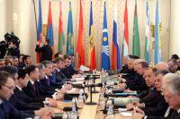 Заседание Совета министров иностранных дел СНГ в Москве.