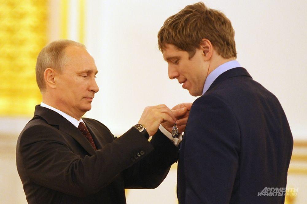 Награда для Николая Кулемина.