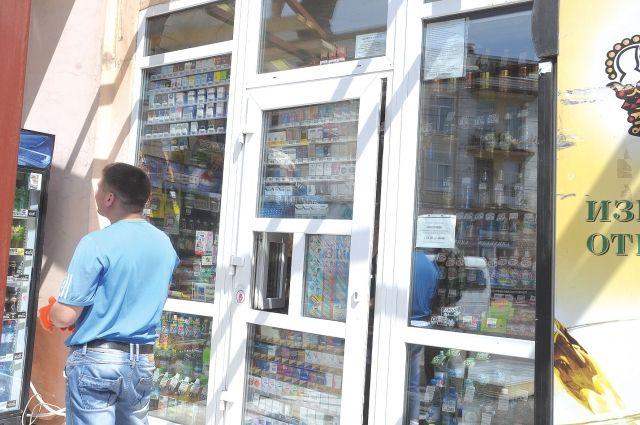 С 1 июня вместо пачек сигарет в витринах будет только список с их перечнем.