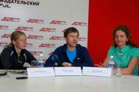 Победители и участница Чемпината России по альпинизму.