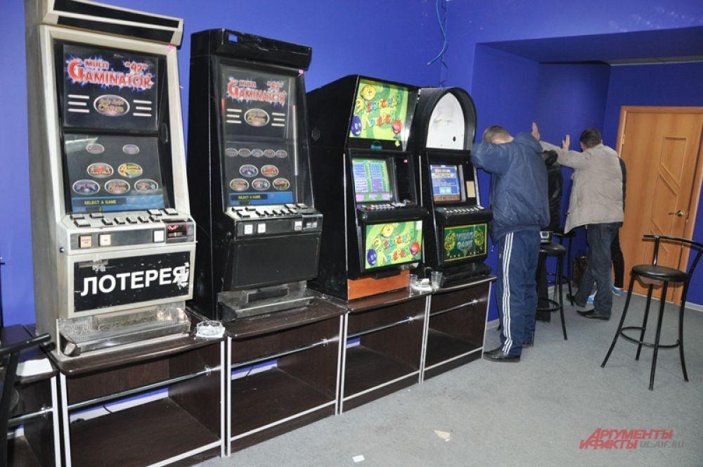 Игровые автоматы были изъяты.