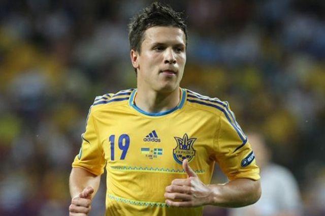 Евгений Коноплянка, полузащитник «Днепра» и национальной сборной Украины