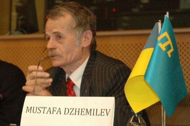 Мустафа Джемилев, председатель Меджлиса крымскотатарского народа