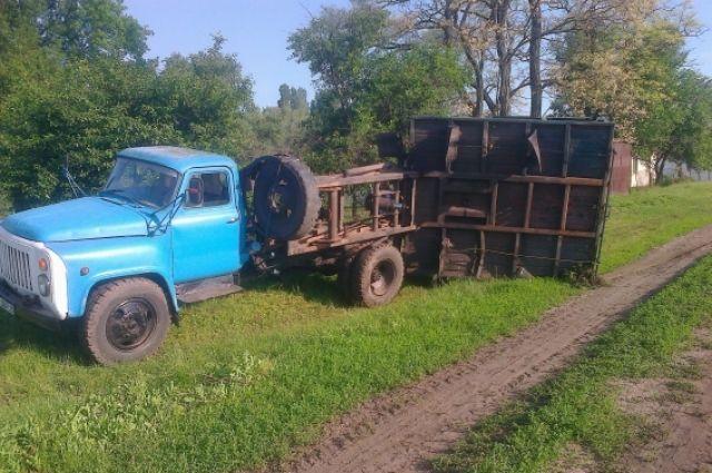 Разлив аммиачной воды в Яготине Киевской области
