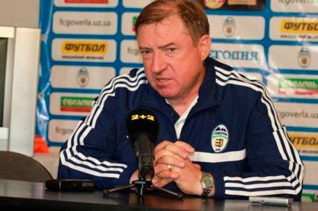 Вячеслав Грозный, тренер ФК Говерла (Ужгород)