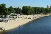 Пляж в Киеве