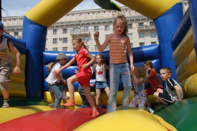 Площадь Революции в Челябинске на лето превратится в детский аттракцион