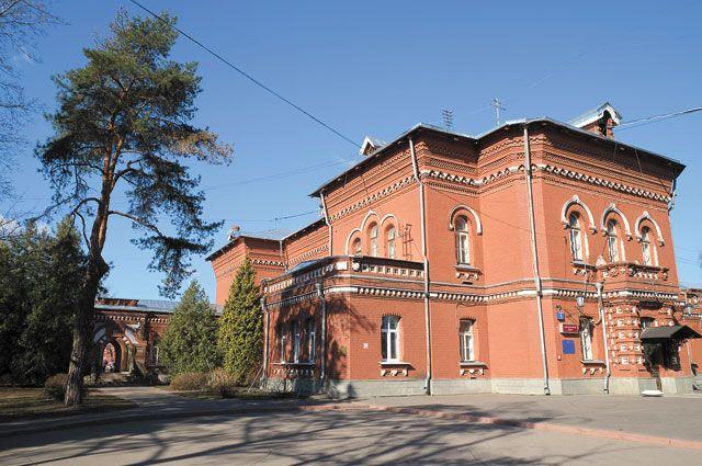 Психиатрическая клиническая больница №1.