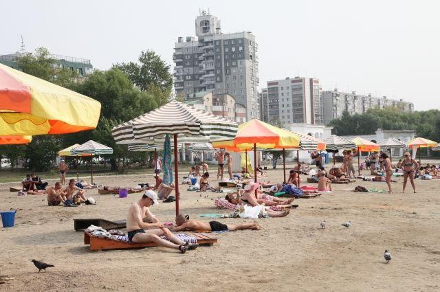 Комиссия забраковала пляж на Шершнях в Челябинске