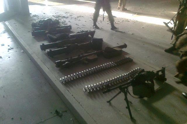 Оружие, обнаруженное в аэропорту