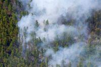 Леса в Приангарье продолжают гореть.