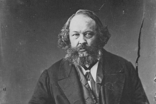 Михаил Бакунин около 1863 г.