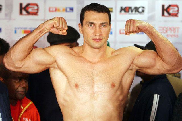 Боксер Владимир Кличко