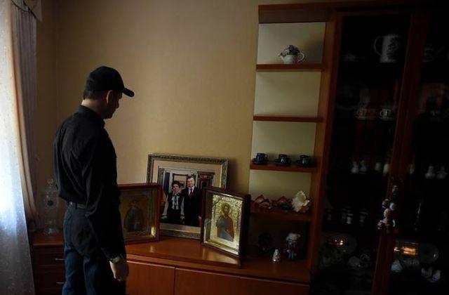 Ляшко на даче Януковича
